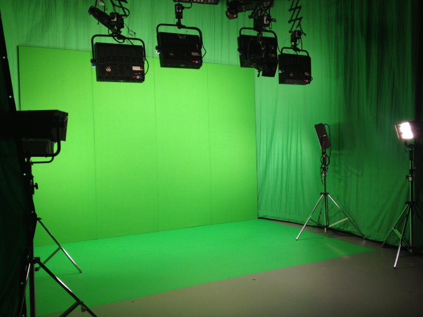 Studio B new green screen